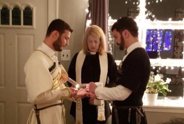 Первая гей-свадьба в чохе состоялась в Нью-Йорке