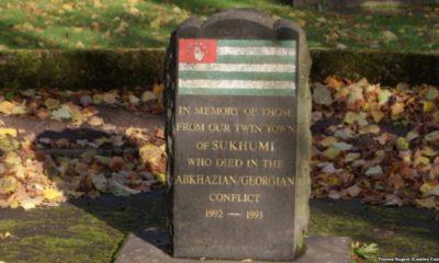 Памятник погибшим сухумцам демонтирован в Килмарноке