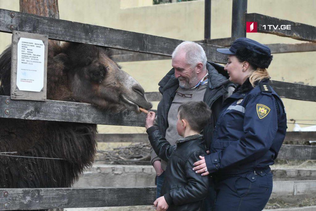 Zoo 6 #новости Грузия, зоопарк, полиция, тбилиси