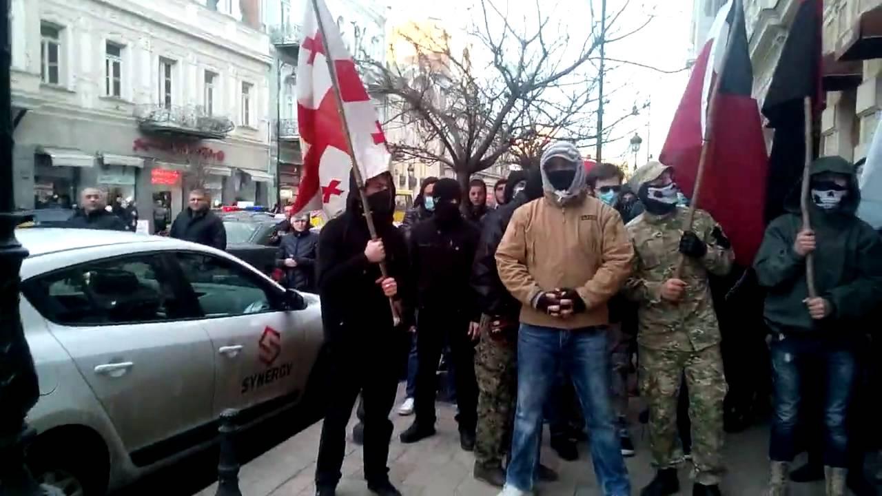 1 #новости Грузинский марш, Грузия, мвд, народный патруль, полиция, Сандро Брегадзе, тбилиси