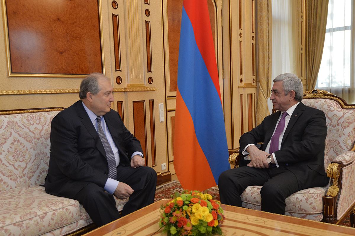 Armenia 1 #новости Армен Саркисян, Армения, выборы, президент, Серж Саргсян