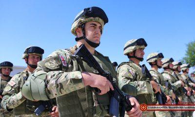 Грузия закупит тактическое вооружение пехоты у США