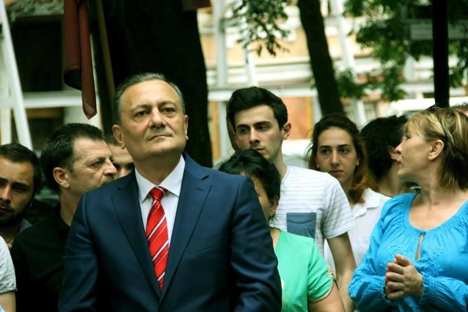 Shalva Natelashvili 6 линия оккупации линия оккупации