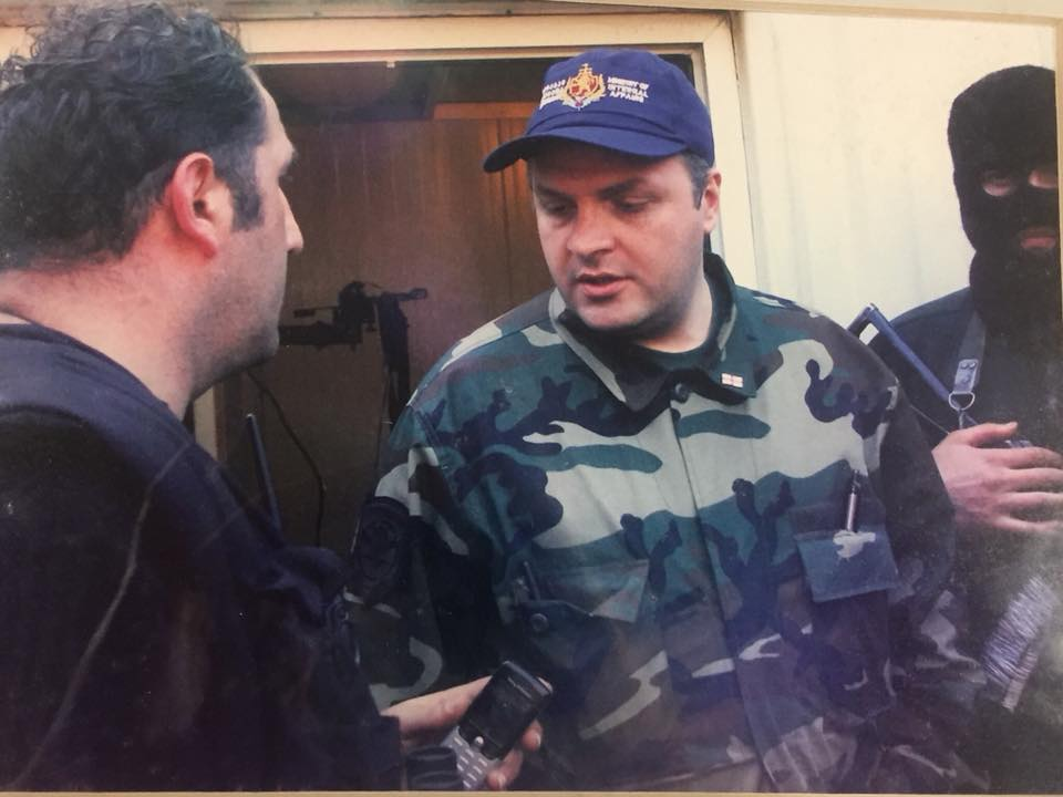 Giorgi Baramidze 1 #политика 2003, 23 ноября, featured, Бидзина Иванишвили, Георгий Барамидзе, Грузия, Михаил Саакашвили, Нино Бурджанадзе, революция, Революция роз