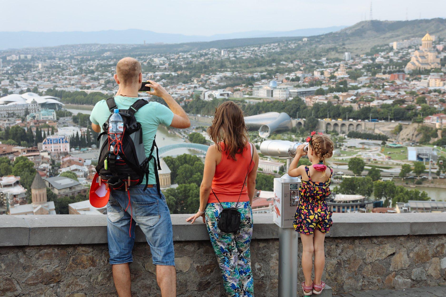 Tourists #новости Грузия-Россия, туризм