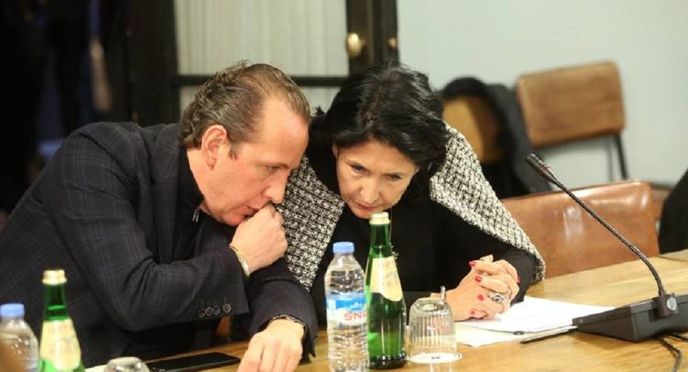 Gabunia Zourabishvili #новости Дмитрий Габуния, помилование, Саломе Зурабишвили