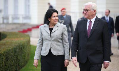 Президент Зурабишвили провела встречу с немецким коллегой