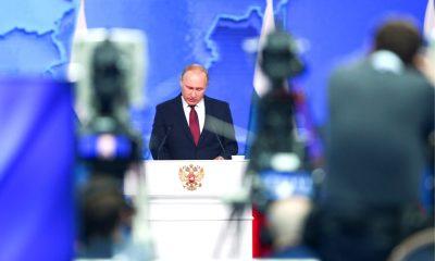 Путин рассказал Федеральному собранию о ракетах