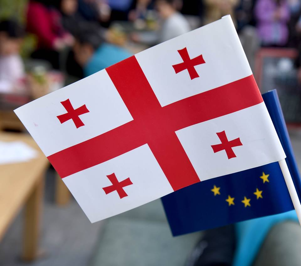Georgia_EU_Flags_2