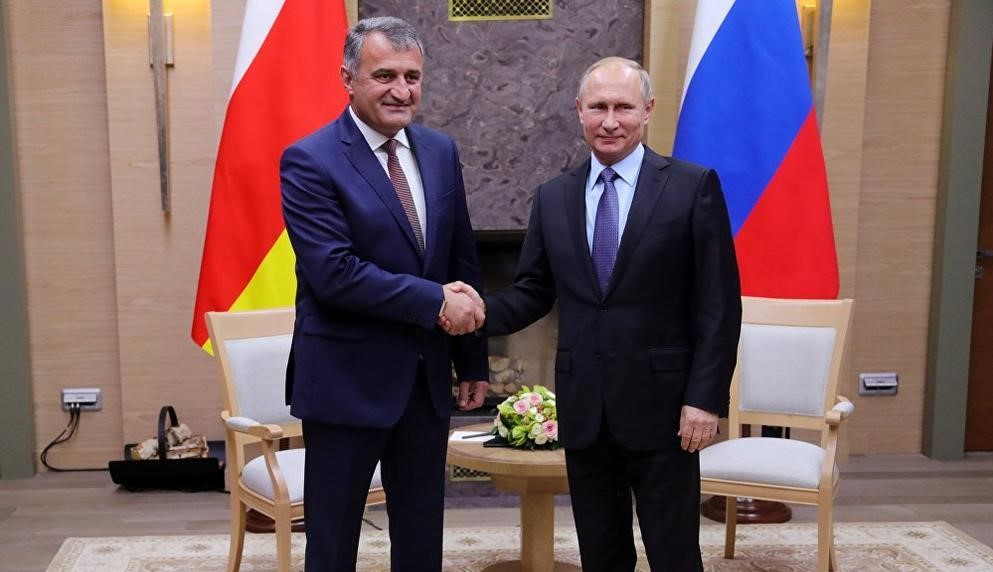 Bibilov Putin 2 #новости Грузия, За правду, Захар Прилепин, оккупация, Южная Осетия
