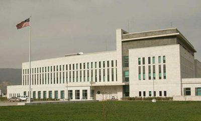Посольство США: призываем правительство действовать уравновешено и сдержанно