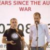 Гражданин России спел патриотическую грузинскую песню на антиоккупационной акции в Тбилиси