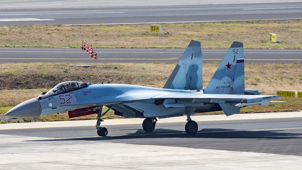 Су-35 в Турции
