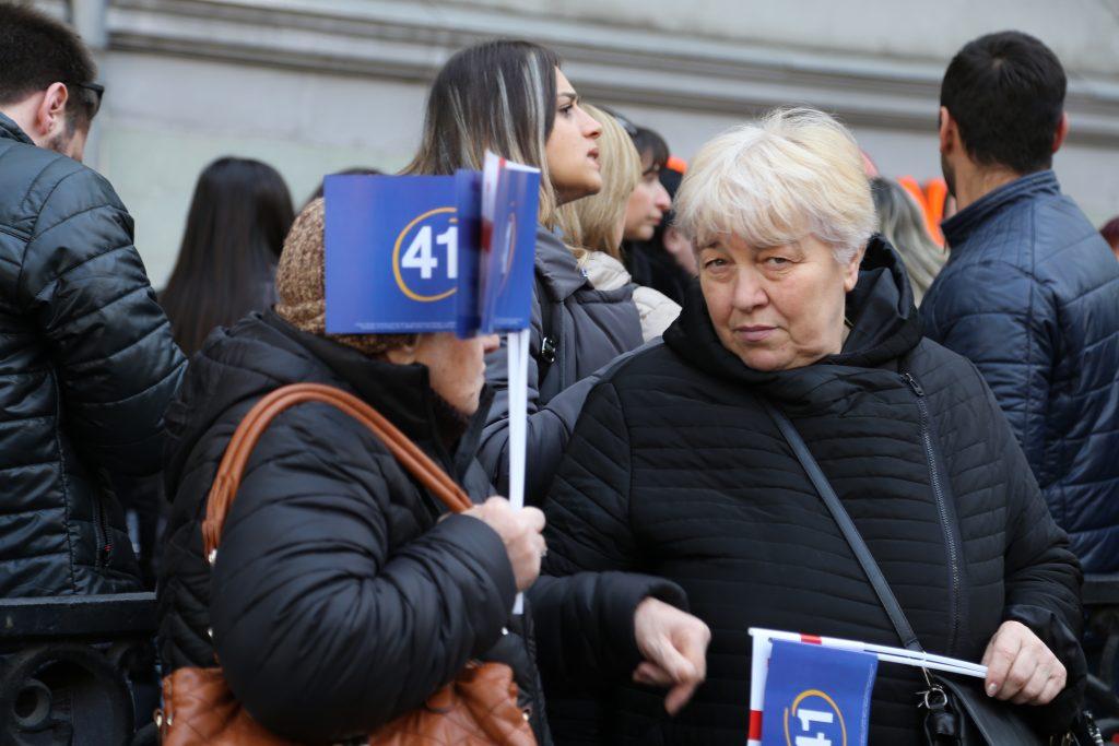 image00008 #фоторепортаж акция, Бидзина Иванишвили, Грузинская мечта, тбилиси