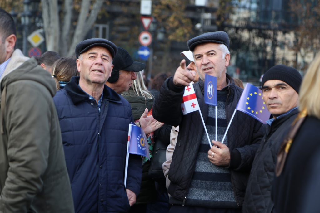 image00011 #фоторепортаж акция, Бидзина Иванишвили, Грузинская мечта, тбилиси