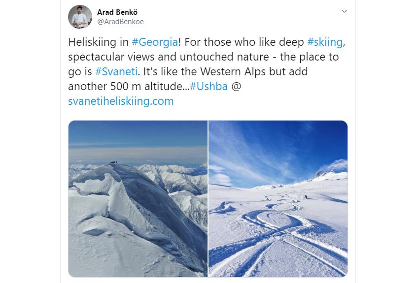 2873562828 #новости Альпы, Арад Бенко, Сванети