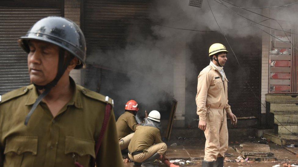 Беспорядки в Дели