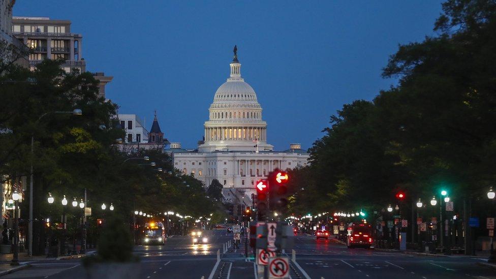 Здание американского конгресса