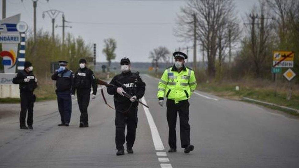 Полиция в Румынии