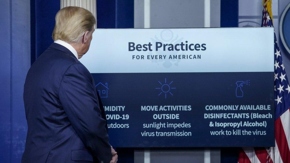 Пресс-конференция в Белом доме 23 апреля