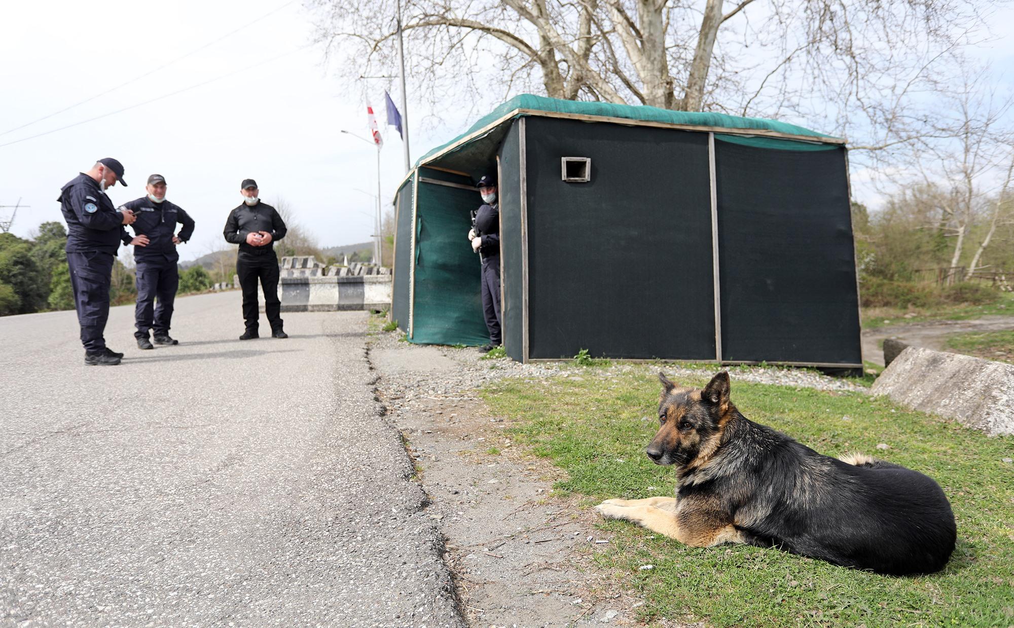 Abkhazia Border 2 #новости Абхазия, наркотики, российская оккупация в Грузии