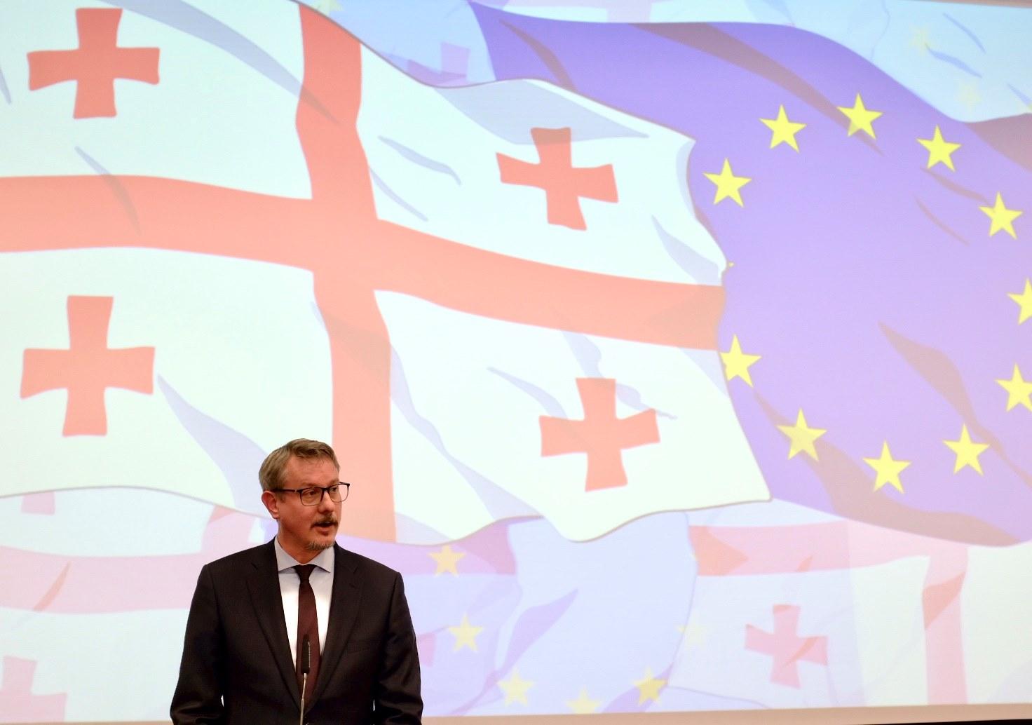 Carl Hartzell 10 #новости бордеризация, Грузия-ЕС, евросоюз, Карл Харцель, Тахтисдзири