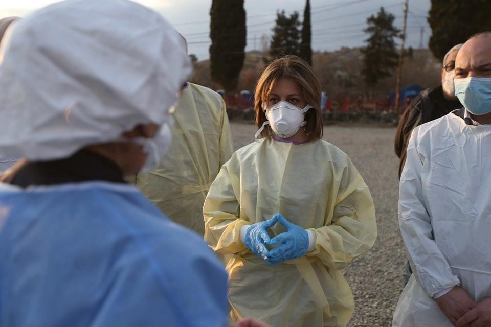 Ekaterine Tikaradze 6 #новости коронавирус, коронавирус в Грузии, Минздрав Грузии