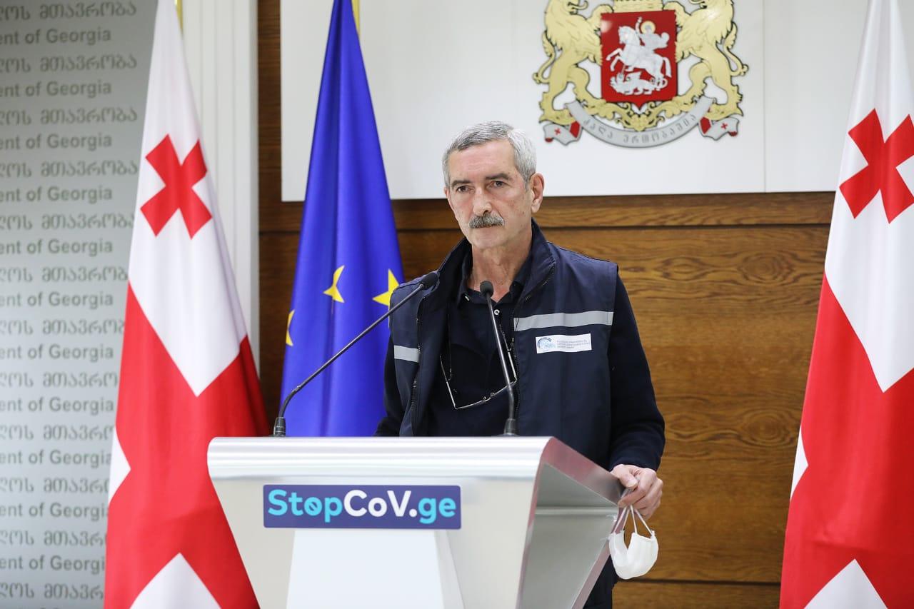 Paata Imnadze 1 #новости коронавирус, коронавирус в Грузии, Паата Имнадзе