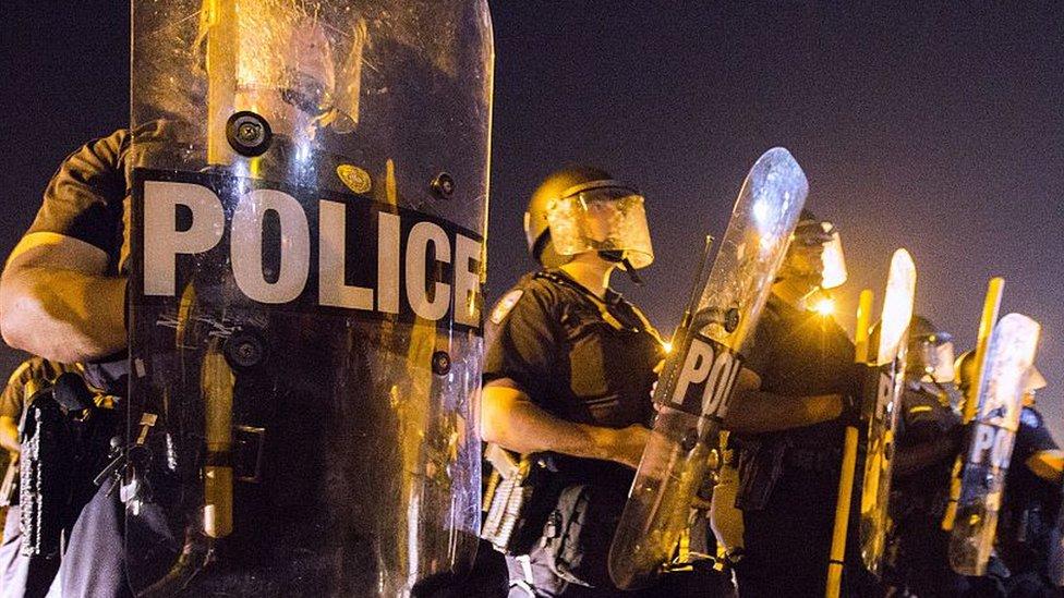 Американские полицейские