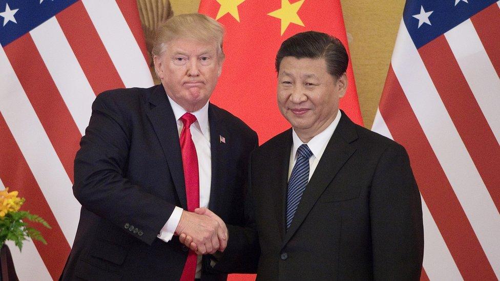 Доальд Трамп и Си Цзиньпин