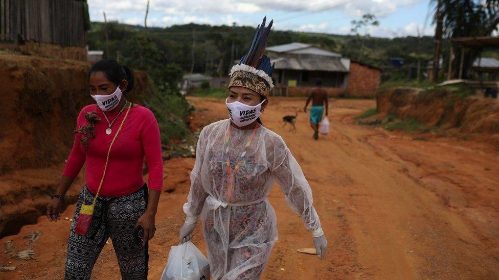Коренные жители Бразилии живут большими коммунами