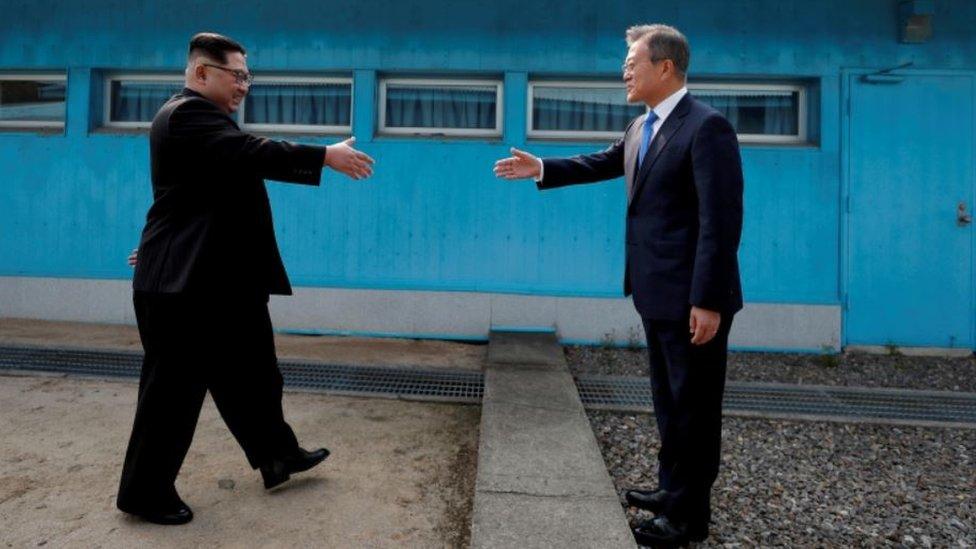 Встреча лидеров КНДР и Южной Кореи в 2018 году