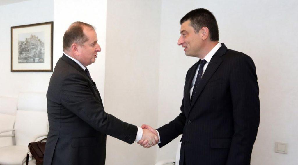 gakharia meeting #новости Георгий Гахария, Миссия наблюдателей ЕС