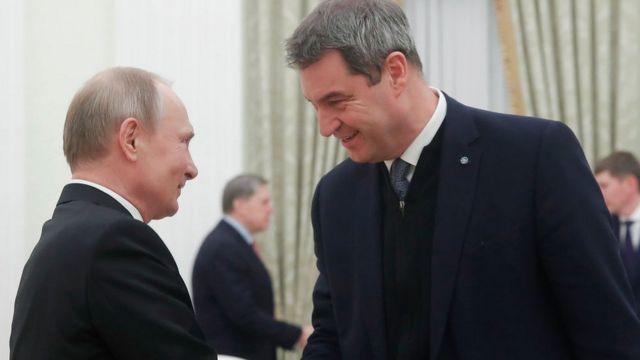 Владимир Путин, Маркус Зёдер