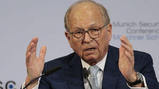 Ветеран немецкой дипломатии и организатор Мюнхенской конференции Вольфганг Ишингер