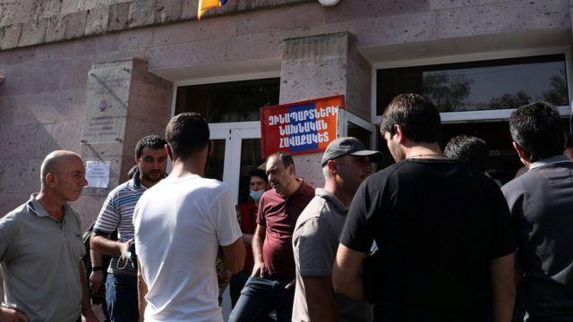 Армянские призывники в Ереване