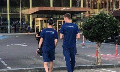 Игроки московского клуба «Динамо» прибыли в Тбилиси