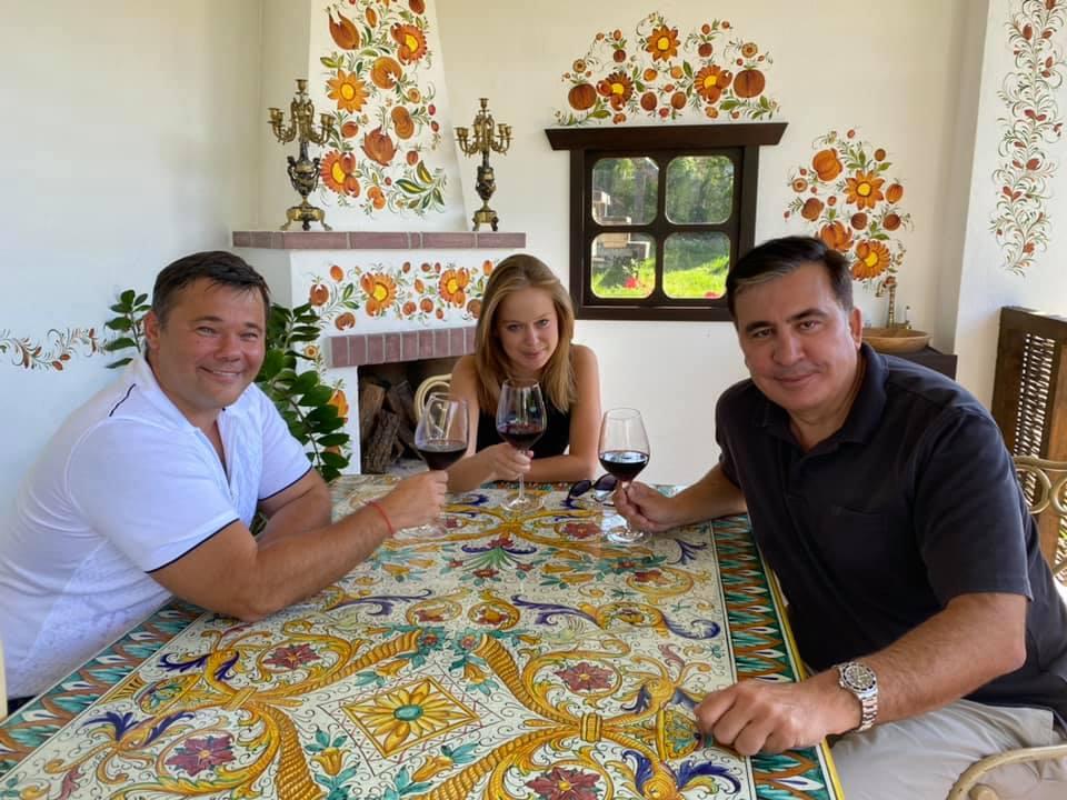 Bogdan Saakashvili Yasko #новости Андрей Богдан, Грузия, Михаил Саакашвили, украина