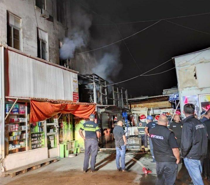 emergency fire e1599911235238 #новости мвд, пожар, Служба спасения, тбилиси
