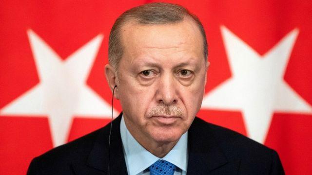 президент Эрдоган на пресс-конференции