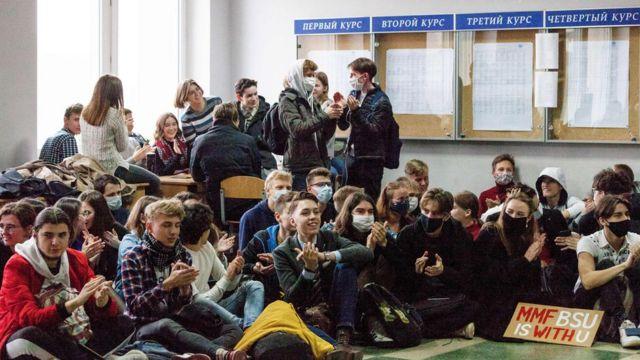 После сидячей забастовки десятки студентов попали под отчисление