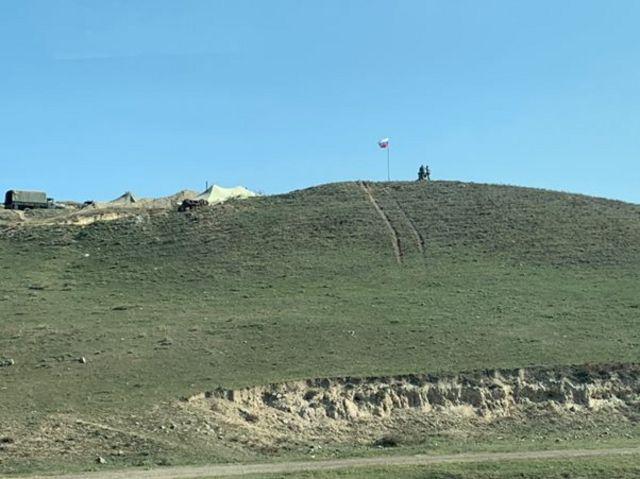 База российских пограничников в Армении недалеко от Лачина