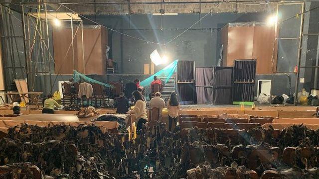 Разрушенный театр