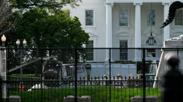 Белый дом, 2 ноября 2020