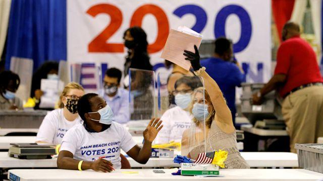 Подсчет голосов во Флориде
