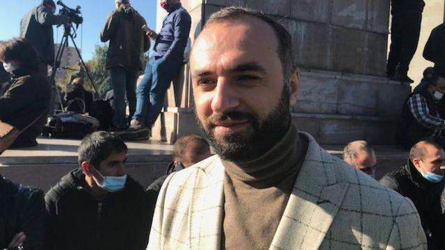 правозащитник Роберт Айрапетян