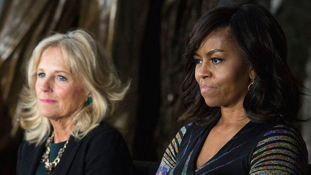 Джилл Байден и Мишель Обама