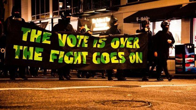Протесты после выборов