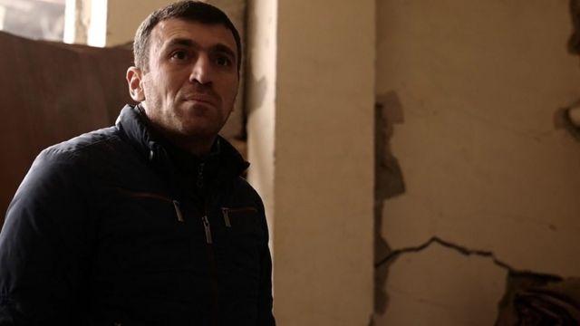 Вахе, владелец магазина в Степанакерте