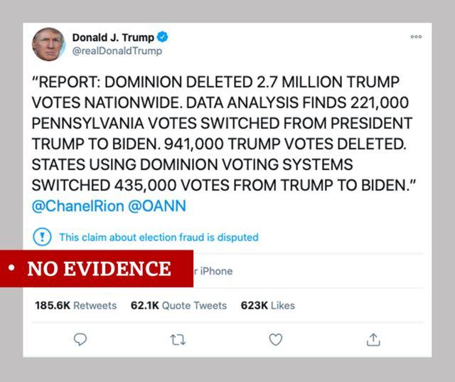 Твит Дональда Трампа